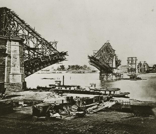 Ponte Eads, um marco para o Aço